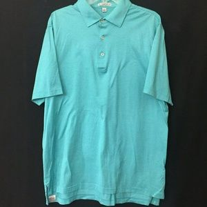 Peter Millar Golf polo shirt Men's size L